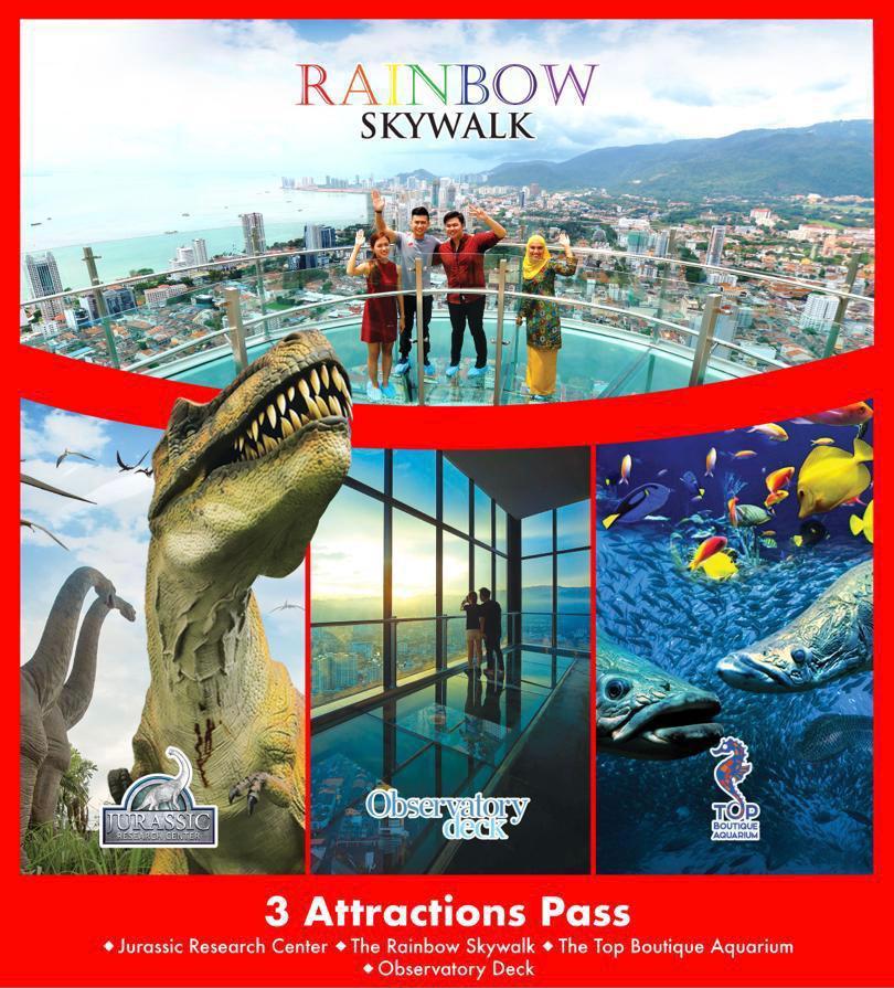 3 Attractions Pass Child/Sr